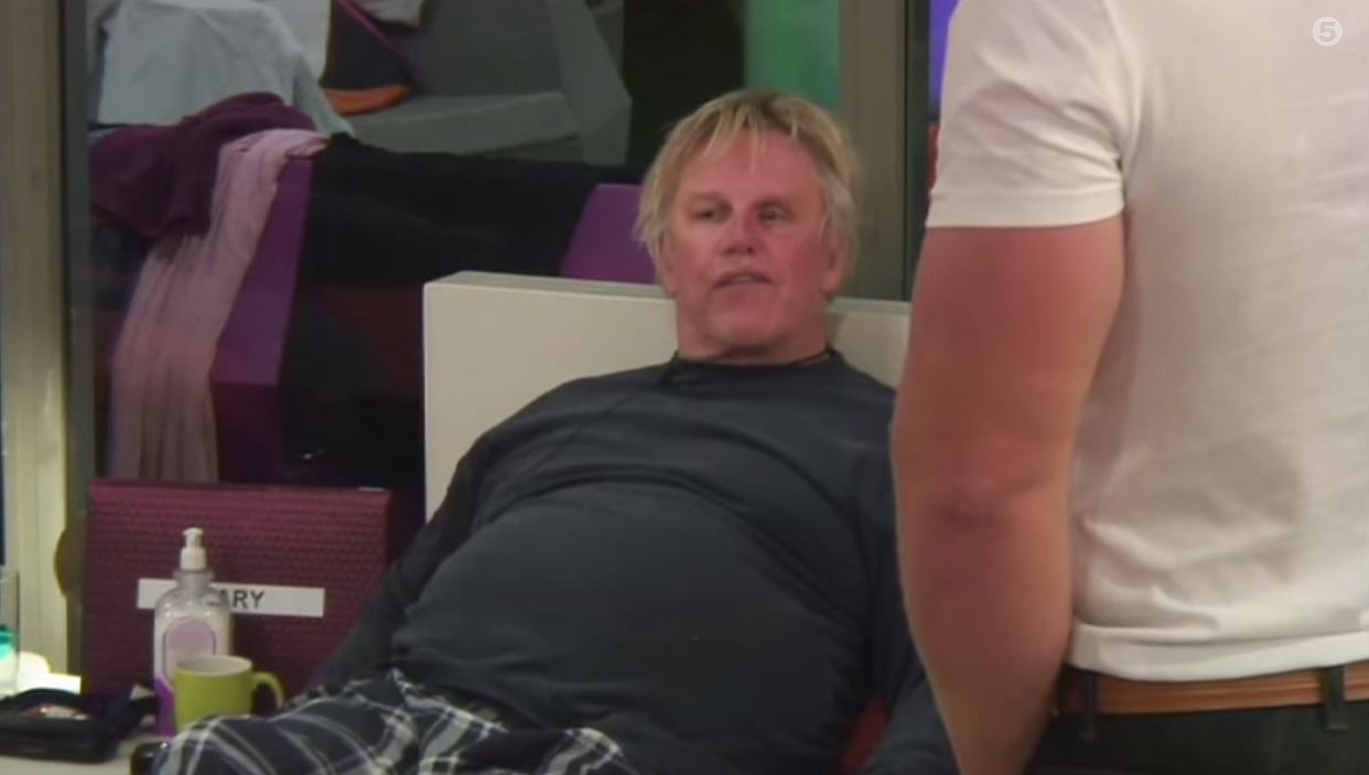 Gary told James how he was feeling - in a long-winded way (Picture: YouTube)