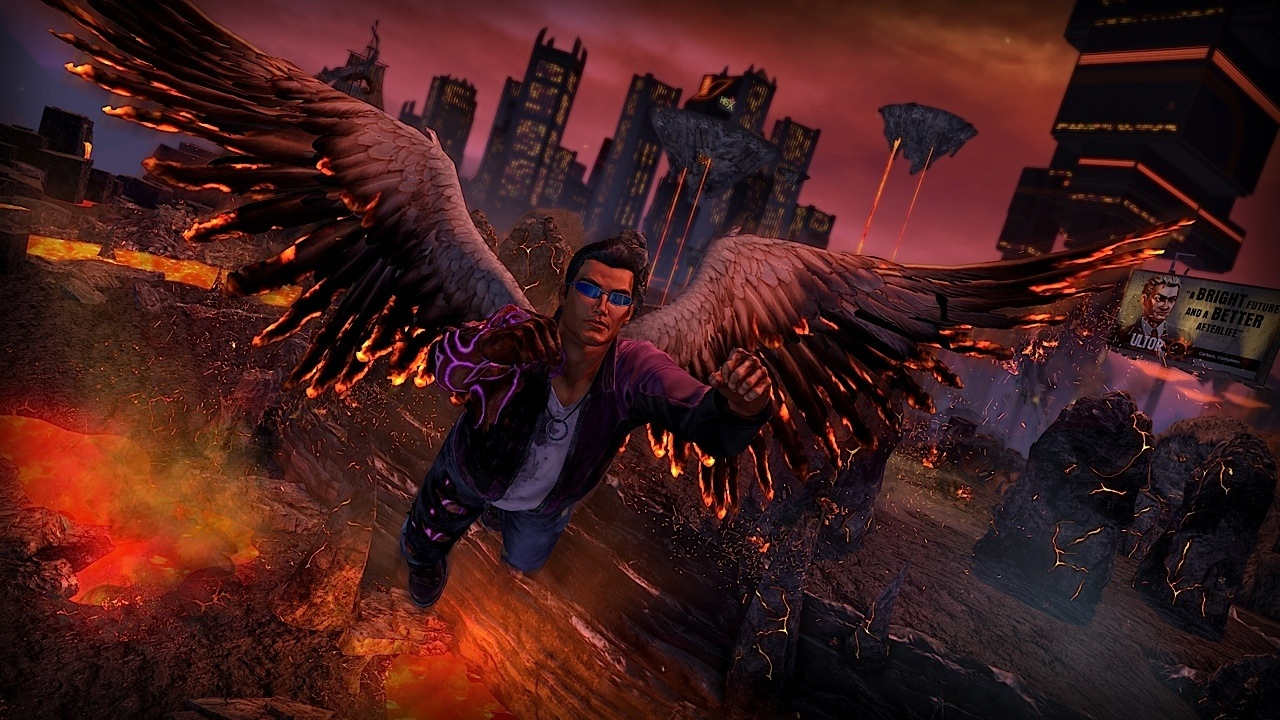 Saints Row: Gat Out Of Hell - where angels fear to tread