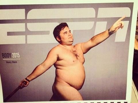 Man loses bet, makes hilarious semi-naked photo calendar as his punishment