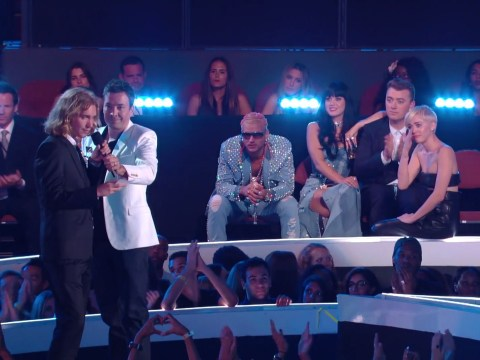Miley Cyrus left a bawling wreck at MTV VMAs after her homeless date's plea to rich and famous