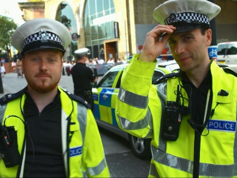 Watch comics dressed as cops make Londoners endure ridiculous 'random sobriety test'