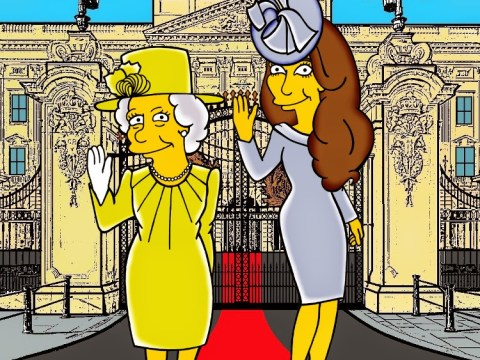 Kate Middleton's most iconic fashion moments get Simpsons-style makeover