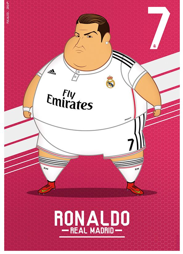 Ronaldo in chubby form