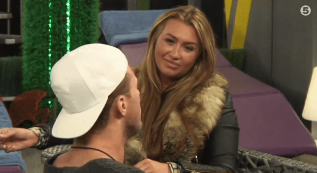 Celebrity Big Brother 2014 - Lauren Goodger and Ricci Guarnaccio