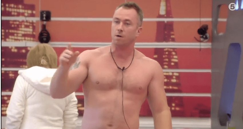 James Jordan Celebrity Big Brother 2014