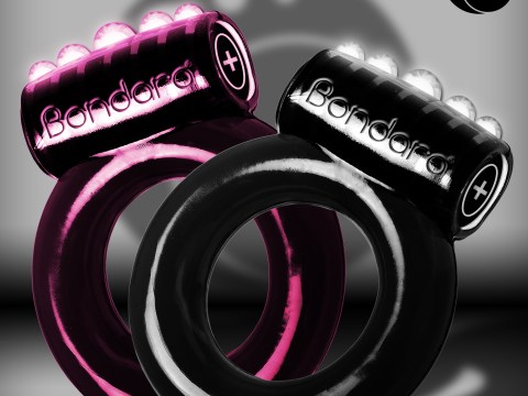 Now there's a cock ring that can track how good you are in bed, phew