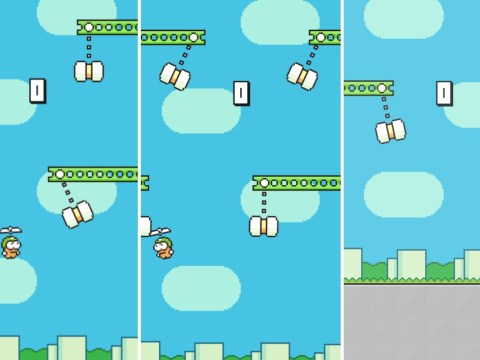 Flappy Bird inventor releases a new Swing Copters game – and it's almost impossible