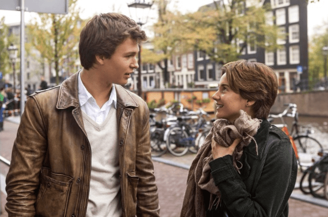 Ansel Elgort and Shailene Woodley in The Fault in Our Stars (Picture: 20th Century Fox)