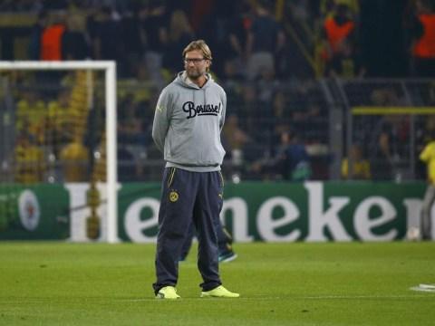 Jurgen Klopp's dress sense becomes talk of Twitter after Borussia Dortmund boss wears hoodie for Arsenal clash