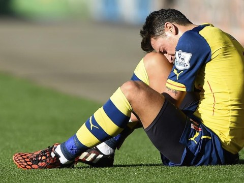 Mesut Ozil's attitude slammed by former Germany captain Michael Ballack following Arsenal's defeat to Borussia Dortmund