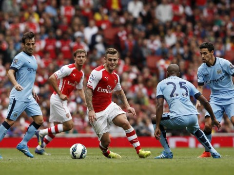 How Arsenal's Jack Wilshere eclipsed Manchester City's Frank Lampard AND Fernandinho