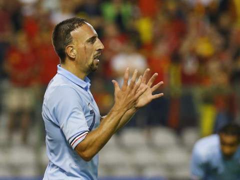 Michel Platini threatens Franck Ribery with Bayern Munich ban over France international retirement