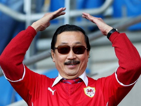 Vincent Tan gets the stag-do treatment after lads go on night out – dressed as Cardiff City owner