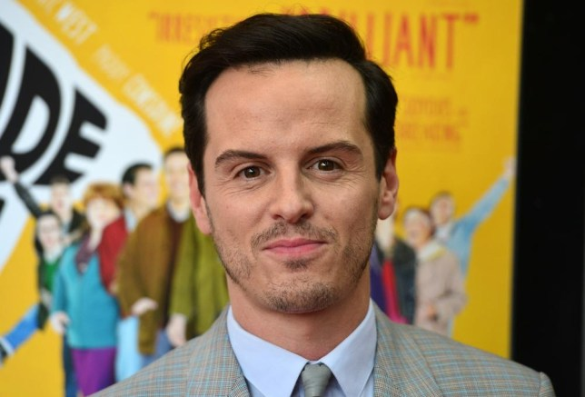 British actor Andrew Scott attends the UK premiere of his film, Pride, in central London on September 2, 2014. AFP PHOTO / CARL COURT CARL COURT/AFP/Getty Images