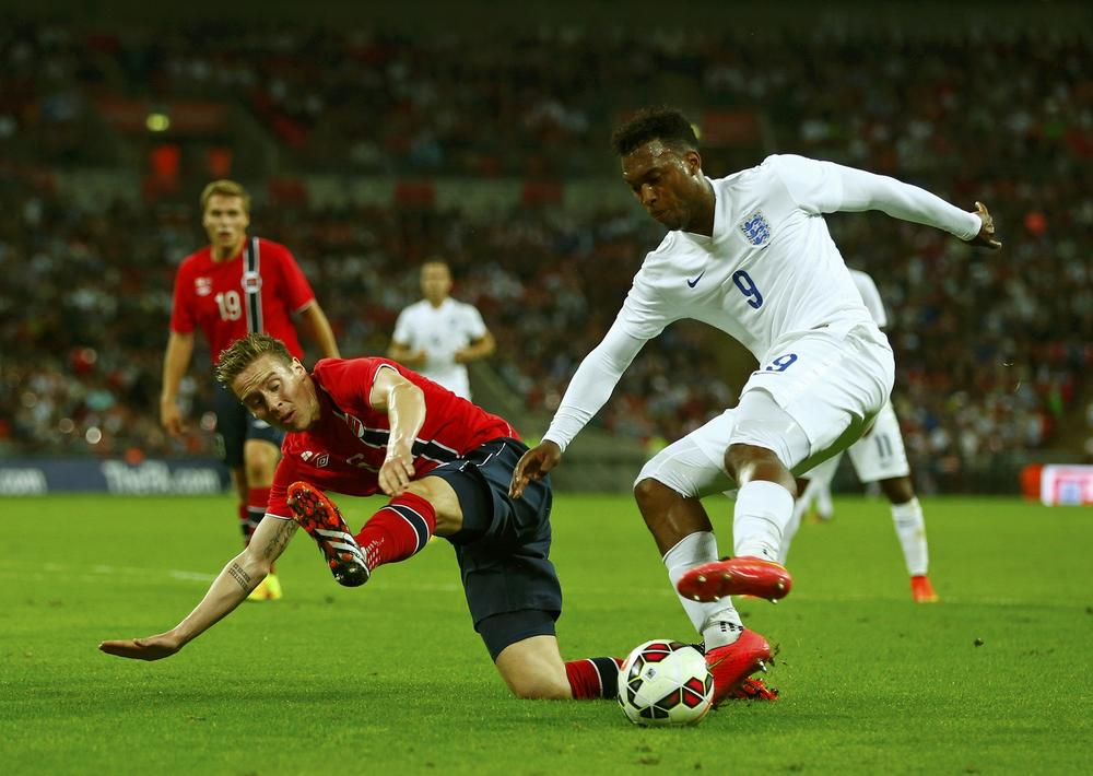 Liverpool boss Brendan Rodgers points the finger at England over Daniel Sturridge injury