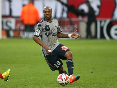 Marseille's Andre Ayew scores incredible 'rabona' goal against Reims