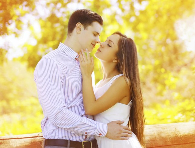 Sensual sweet couple kissing summer, date, love, relationships - concept Rohappy/Rohappy