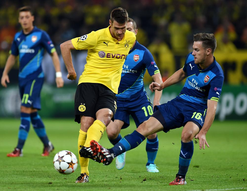 Arsenal 'never offered much and we could have won three or four-nil', says Borussia Dortmund's Sebastian Kehl