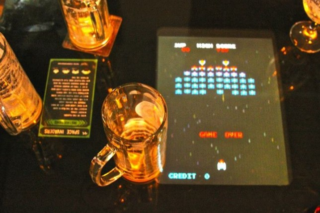 The Four Quarters - coin-op arcades... and booze!