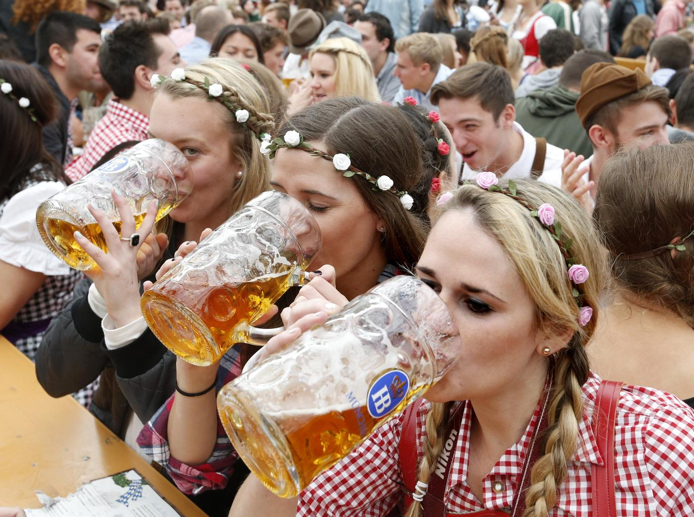 Next stop, Oktoberfest! Beer may be good for your brain, study suggests