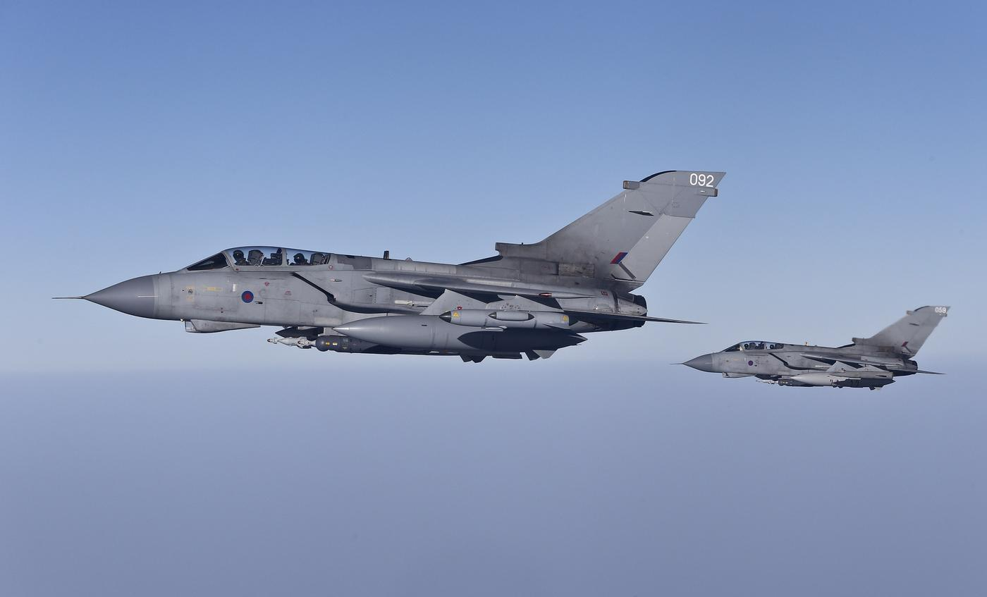RAF planes are 'invaluable' to fight in Iraq but have yet to engage ISIS