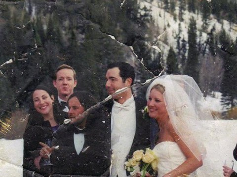Happy ending: Woman tracks down couple whose wedding photo she found in 9/11 rubble after 13-year search