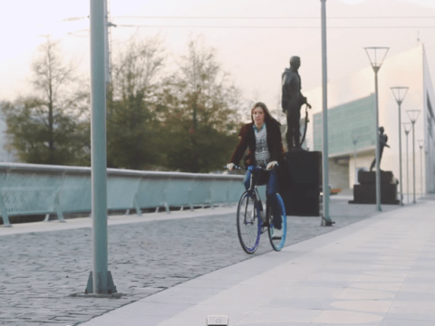 This bicycle is apparently the world's first 'unstealable bike'