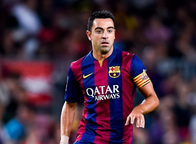 Xavi will leave Barcelona this summer after 17 seasons at the club (Picture:Getty)