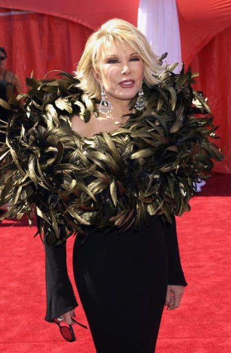 Image result for joan rivers red carpet