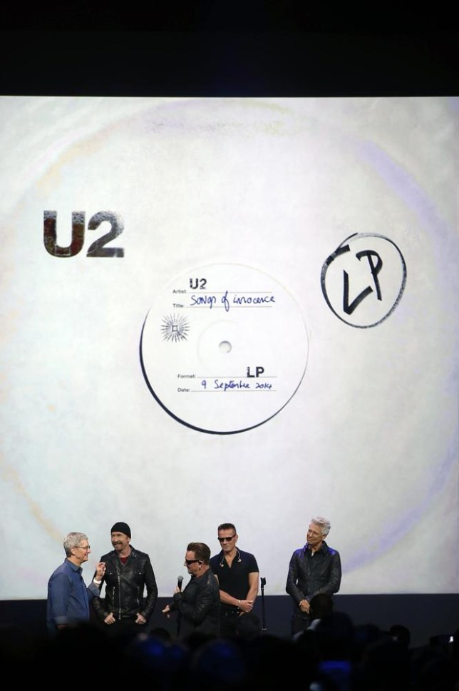 How to delete U2's Songs Of Innocence album iTunes help page