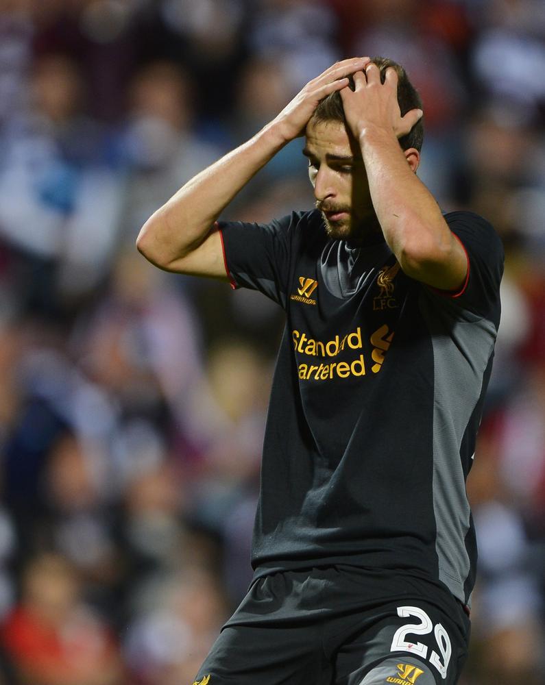 Liverpool's Fabio Borini launches bizarre rant after failed transfers to QPR and Sunderland