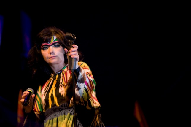 No prizes for guessing which side Bjork is backing (Picture: Getty)