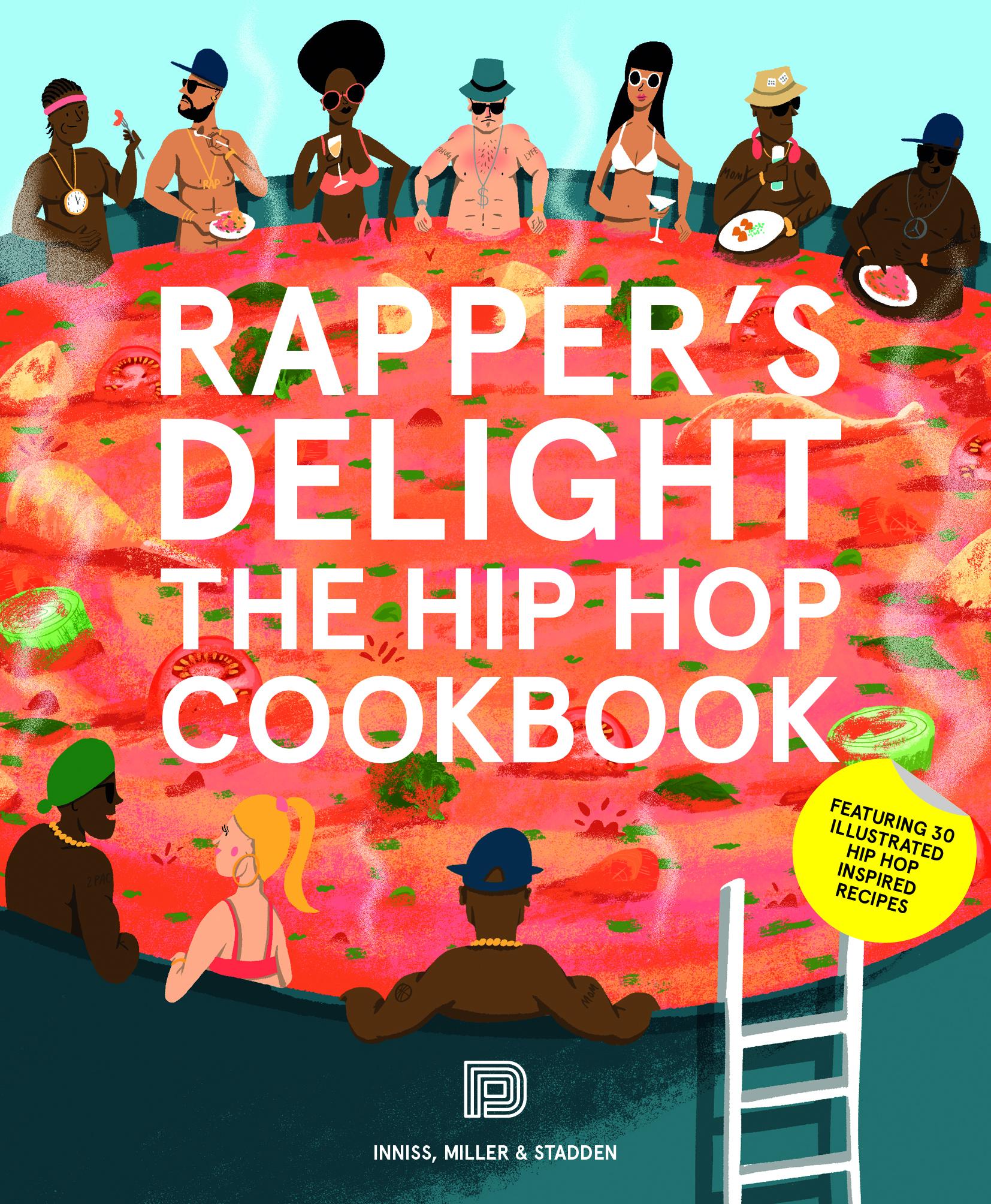 Rapper's delight cookbook, Rap cookbook, Snoop Dogg, Ludacris, Notorious BIG, Missy Elliott, Free recipes, Easy recipes, Duck, Tiramisu, Stroganoff