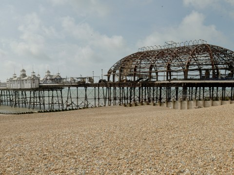 Burnt out Eastbourne Pier to reopen two months after devastating fire