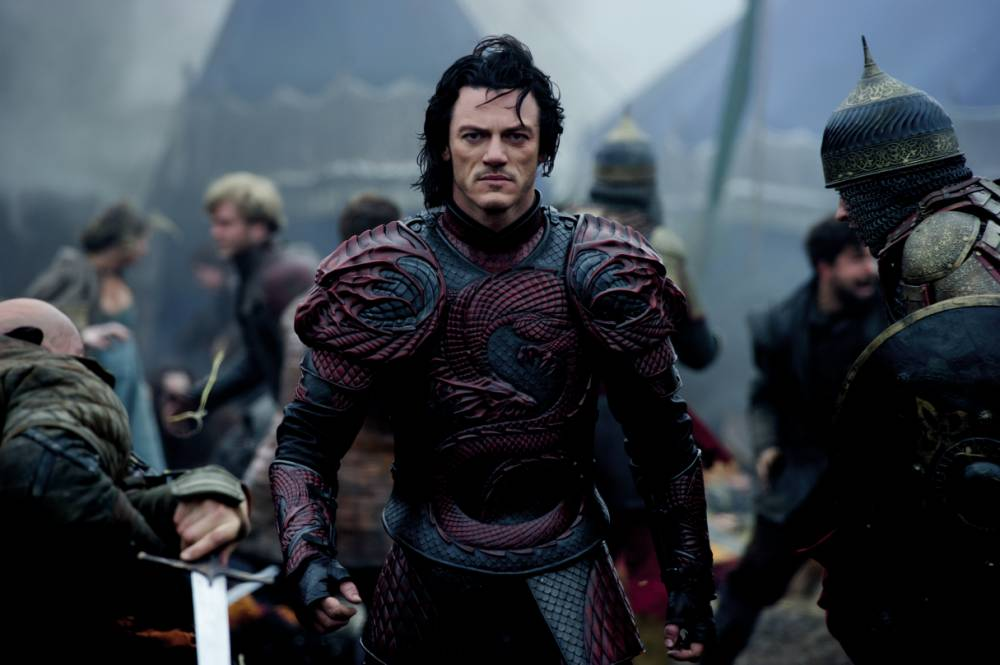 EXCLUSIVE: Luke Evans goes over to the dark side in this intense Dracula Untold clip