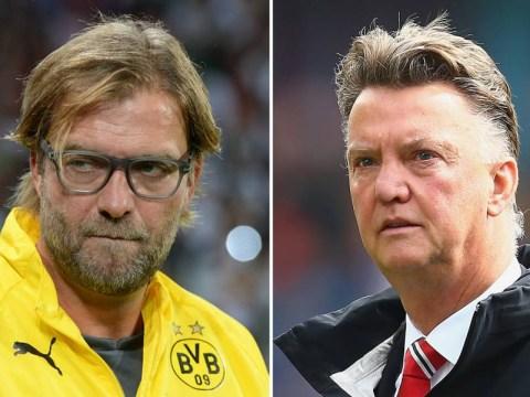 Manchester United 'want Borussia Dortmund boss Jurgen Klopp to replace Louis van Gaal'