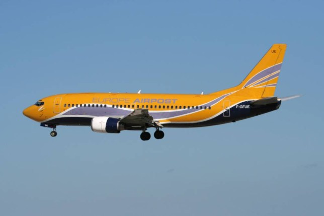 The Europe Airpost plane was travelling from Croatia to France when the pilot caused unnecessary panic on-board