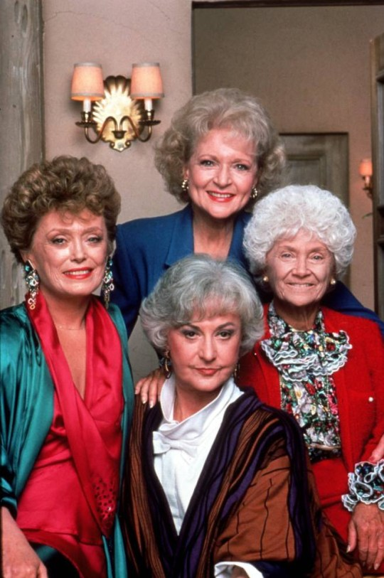 No Merchandising. Editorial Use Only  Mandatory Credit: Photo by SNAP/REX (390885lq)  FILM STILLS OF 'GOLDEN GIRLS - TV' WITH 1992, BEA ARTHUR, ESTELLE GETTY, RUE McCLANAHAN, BETTY WHITE IN 1992  VARIOUS