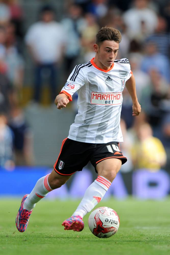 Next big thing: Fulham's Roberts (Picture: PA)