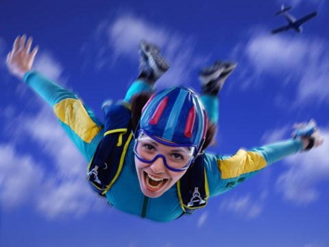 Turns out indoor skydiving burns a heck of a lot of calories