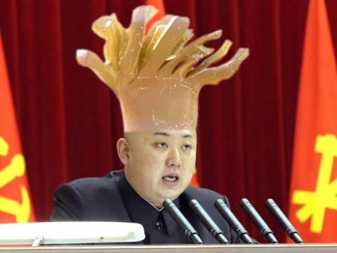 Kim Jong-un in hiding due to Emmental cheese addiction