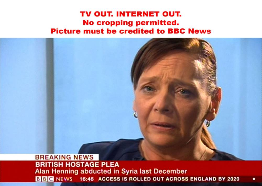 RAF starts Iraq strikes as wife of Alan Henning begs Islamic State to free captured Briton