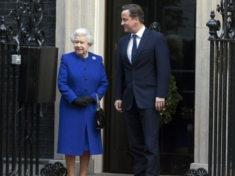 David Cameron 'kicked himself hard' over Queen purring remark