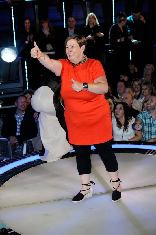 Celebrity Big Brother 2014 - White Dee (Picture: Press)