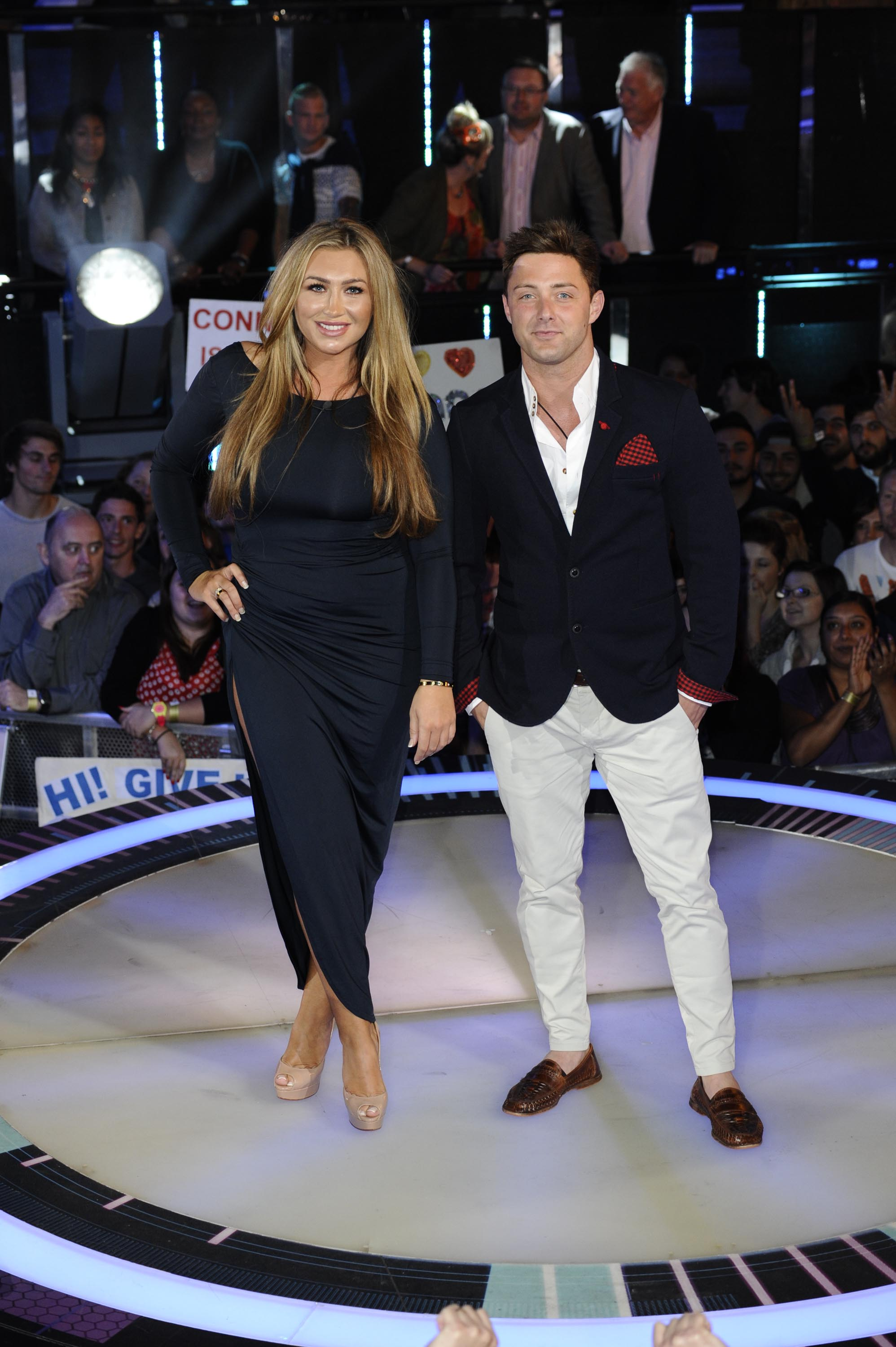 Celebrity Big Brother 2014 Ricci Guarnaccio and Lauren Goodger