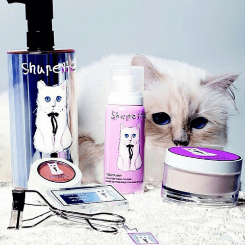 First look at Choupette's make up range for Shu Uemura, because Karl Lagerfeld's cat is doing better at life than you