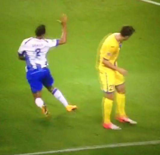 Porto's Danilo takes horrendous dive in Champions League drubbing of BATE Borisov