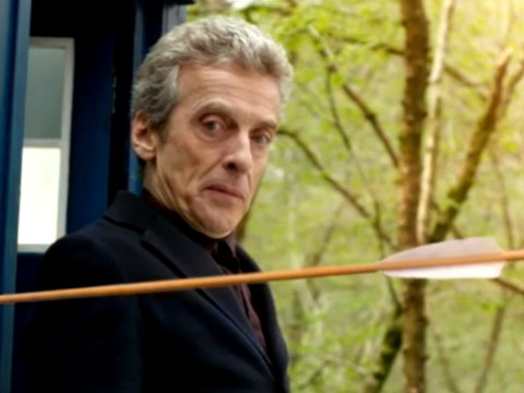 Doctor Who: Peter Capaldi and Jenna Coleman to meet Robin Hood in new episode Robot Of Sherwood trailer