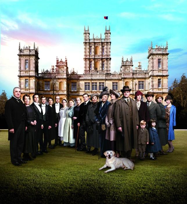 Downton Abbey, Downton Abbey series five, Downton Abbey cast