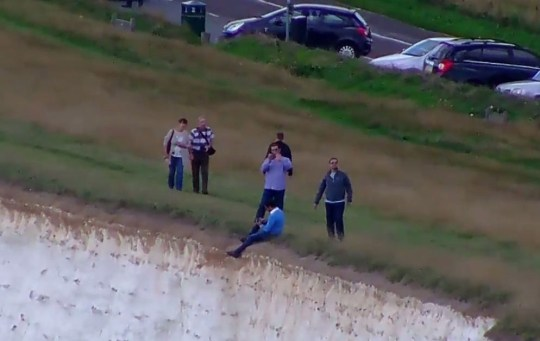 The man's actions have been slammed (Picture:YouTube)
